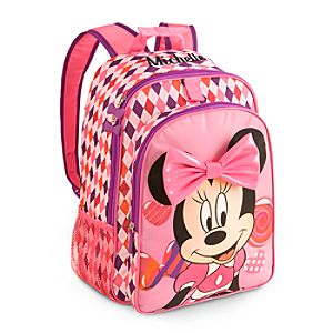 Back to School Backpacks for Girls |Minnie Mouse Clubhouse Backpack - Personalizable
