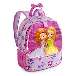 Back to School Backpacks for Girls |Sofia the First Backpack - Personalizable