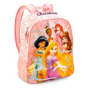 Back to School Backpacks for Girls |Disney Princess Backpack - Personalizable