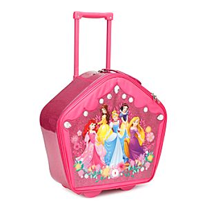 Disney Princess Rolling Luggage with Sound