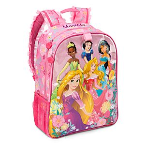 Disney Princess Backpack for Girls - Personalizable