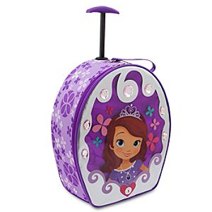 Sofia the First Rolling Light-Up Luggage