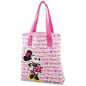 Canvas Minnie Mouse Tote
