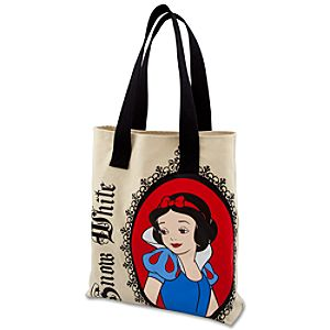 Canvas Snow White Tote