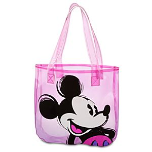 Neon Pop Mickey Mouse Tote