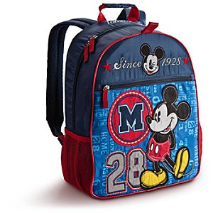 Personalizable Mickey Mouse Backpack