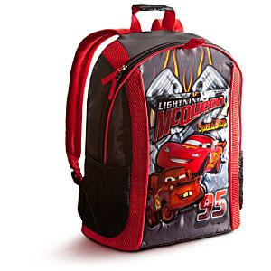 Personalizable Lightning McQueen Backpack