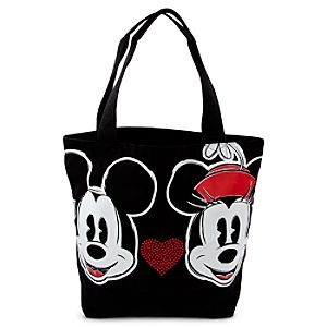 Mickey and Minnie Mouse Tote