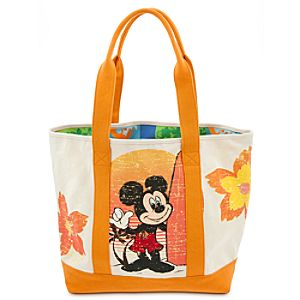 Mickey Mouse Beach Tote - Summer Fun