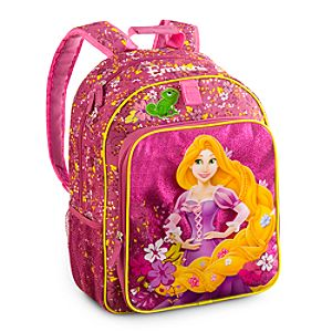 Back to School Backpacks for Girls |Rapunzel Backpack - Personalizable