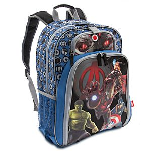Marvels Avengers: Age of Ultron Light-Up Backpack - Personalizable