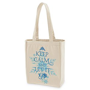 Frozen Canvas Tote