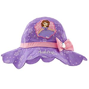 Sofia Sun Hat for Girls - Personalizable