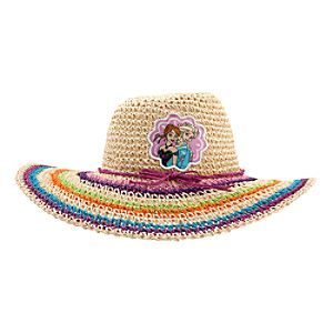 Anna and Elsa Woven Sun Hat for Girls