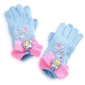 Cinderella Gloves for Girls