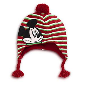Braided Mickey Mouse Hat for Boys