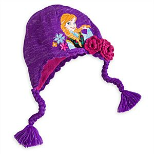 Anna Hat for Girls - Frozen - Personalizable