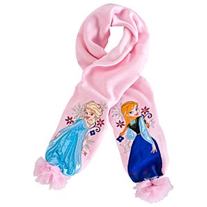 Anna and Elsa Scarf for Girls - Frozen
