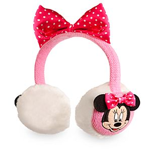 Minnie Mouse Ear Muffs for Girls