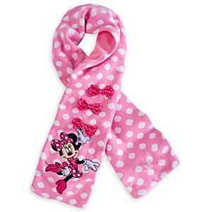 Minnie Mouse Scarf for Girls - Personalizable