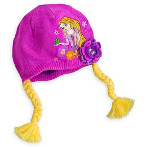 Rapunzel Knit Hat for Girls - Personalizable