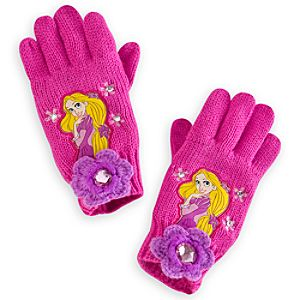Rapunzel Gloves for Girls