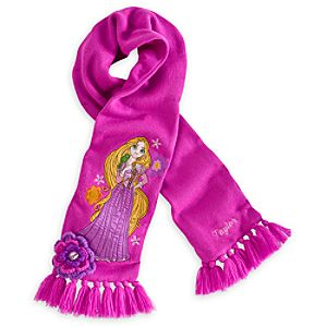 Rapunzel Scarf for Girls - Personalizable