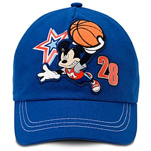 Personalized Mickey Mouse Baseball Cap for Kids