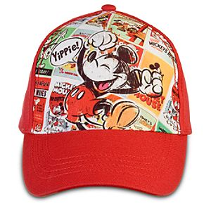 Personalized Disney Nostalgia Mickey Mouse Baseball Cap for Boys
