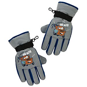 Warm Wear Cars 2 Tow Mater Gloves for Boys