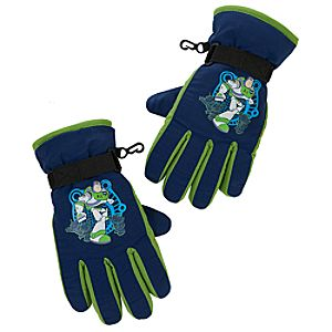 Warm Wear Buzz Lightyear Gloves for Boys