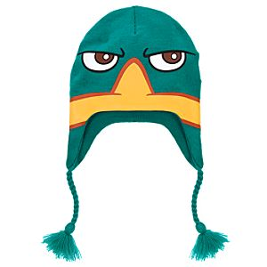 Knit Phineas and Ferb Perry Hat for Boys