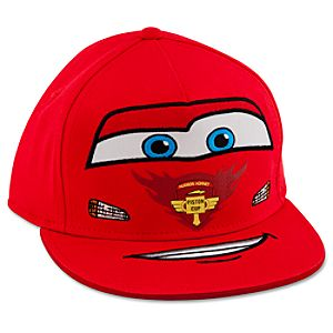 Personalizable Lightning McQueen Baseball Cap for Boys