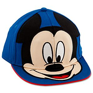 Personalizable Mickey Mouse Baseball Cap for Boys