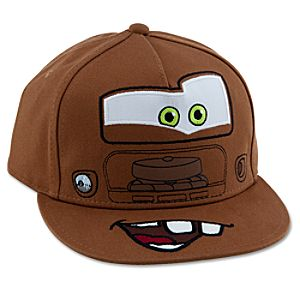 Personalizable Tow Mater Baseball Cap for Boys