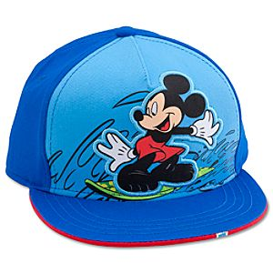 Personalizable Summer Brights Mickey Mouse Baseball Cap for Kids