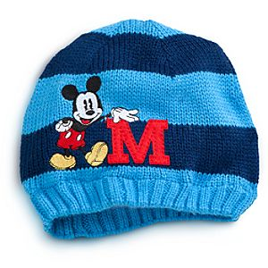 Striped Mickey Mouse Hat