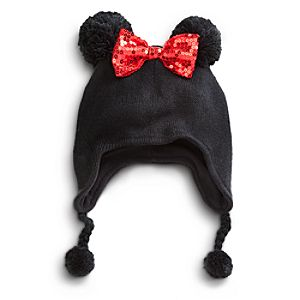 Pom Pom Minnie Mouse Hat