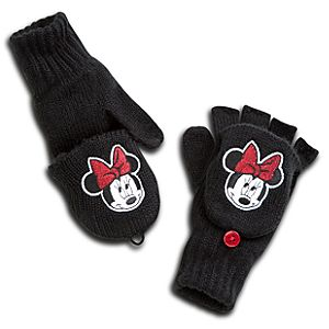 Minnie Mouse Gloves for Girls