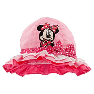 Minnie Mouse Sun Hat for Girls - Personalizable