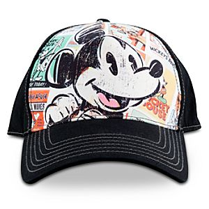 Personalized Disney Nostalgia Mickey Mouse Cap for Adults