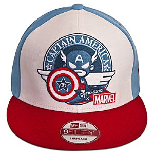 Captain America Hat by Tokidoki - Adults
