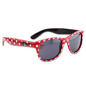 Minnie Mouse Sunglasses for Girls -- Red