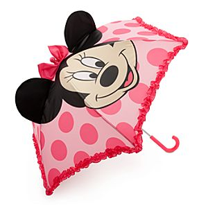 Minnie Mouse 3-D Ear Umbrella for Girls
