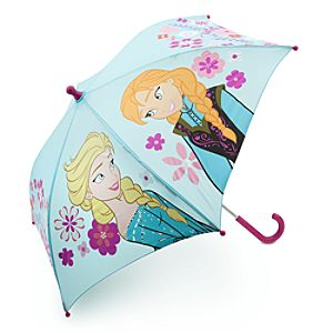 Anna and Elsa Umbrella for Girls - Frozen