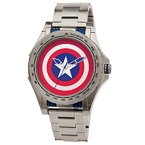 Captain America Stainless Steel Watch for Men