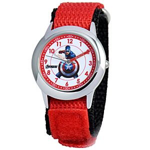 Captain America Time Teacher Watch for Kids