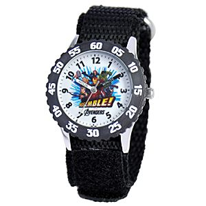 Time Teacher The Avengers Watch for Kids
