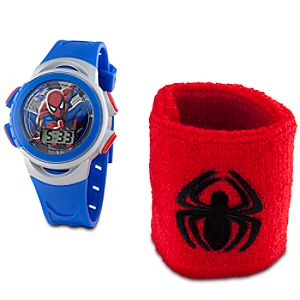 Spider-Sense Spider-Man Watch and Wristband Set