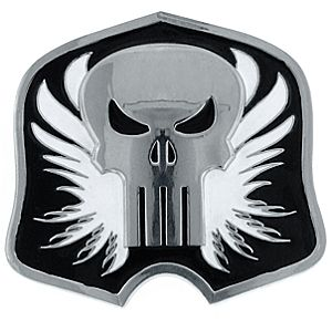 Punisher Belt Buckle by 1928 Jewelry